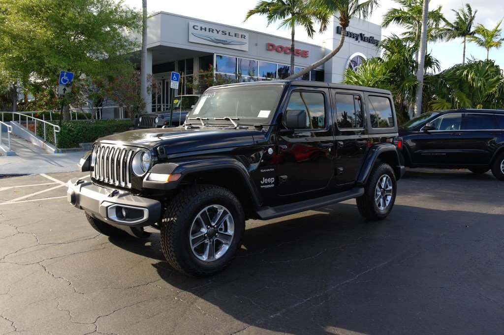 Certified Pre Owned 2019 Jeep Wrangler Sahara