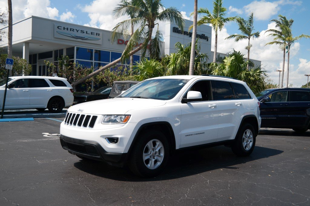 pre owned 2015 jeep grand cherokee laredo sport utility in plantation 27480a massey yardley. Black Bedroom Furniture Sets. Home Design Ideas