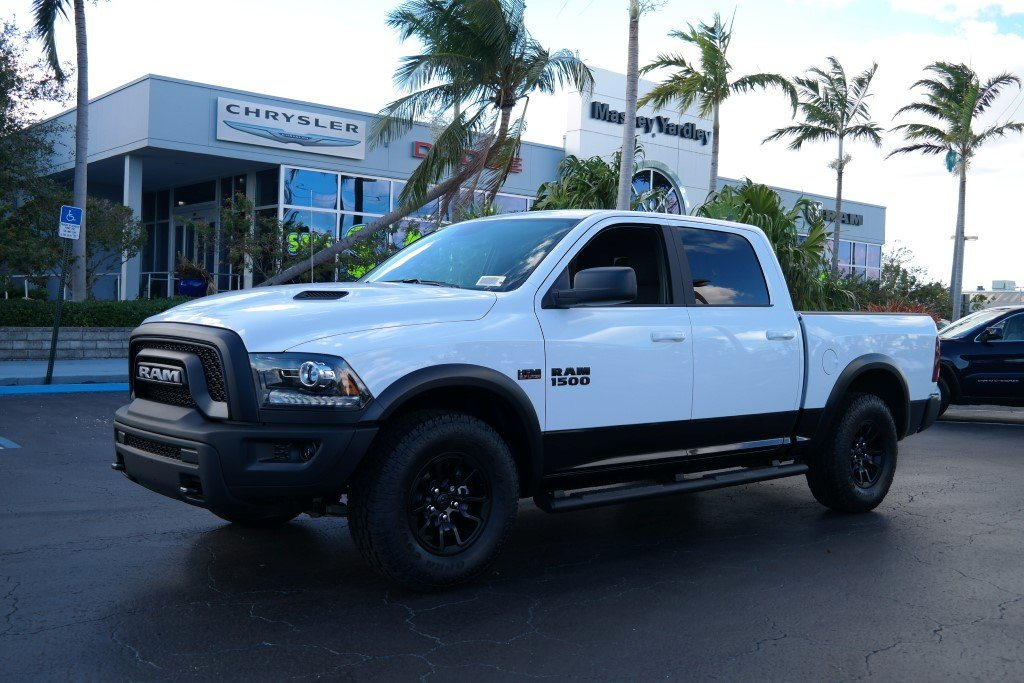 2018 Dodge Rebel >> New 2018 Ram 1500 Rebel Crew Cab In Plantation 18017 Massey