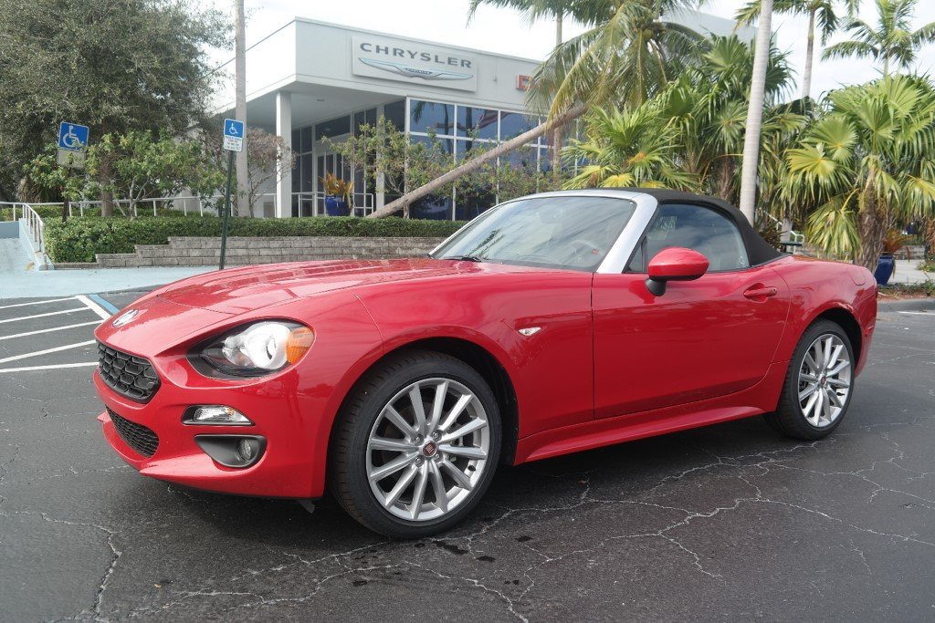 New 2019 Fiat 124 Spider Lusso Convertible In Plantation 59001