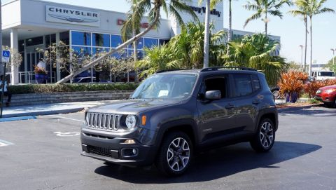 New 2018 Jeep Renegade Laude